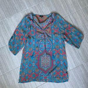 Paisley light weight dress